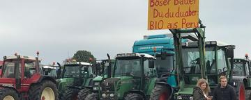 Treckerdemo in Oldenburg